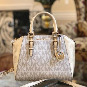 NWT Michael Kors Medium Ciara Signature Handbag